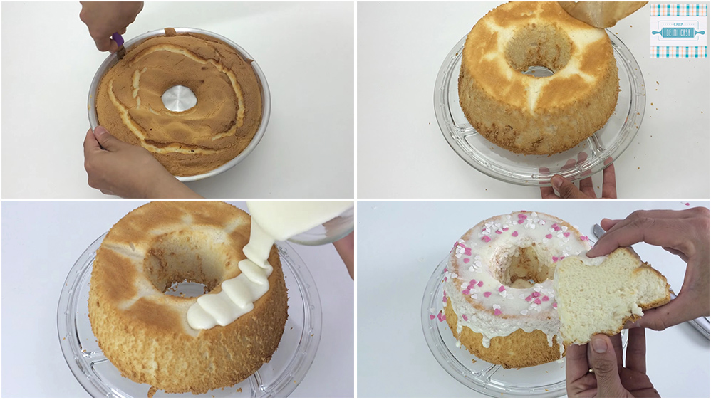 Receta de Angel Food Cake paso a paso 2