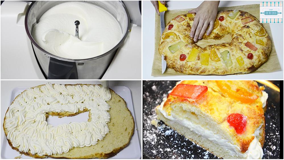 Receta de Roscón de Reyes con Thermomix paso a paso 2
