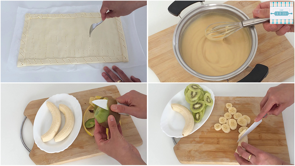 Receta de Tarta de Frutas paso a paso 1