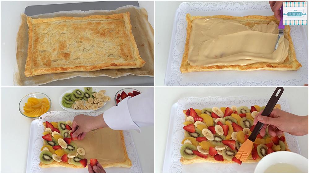Receta de Tarta de Frutas paso a paso 2