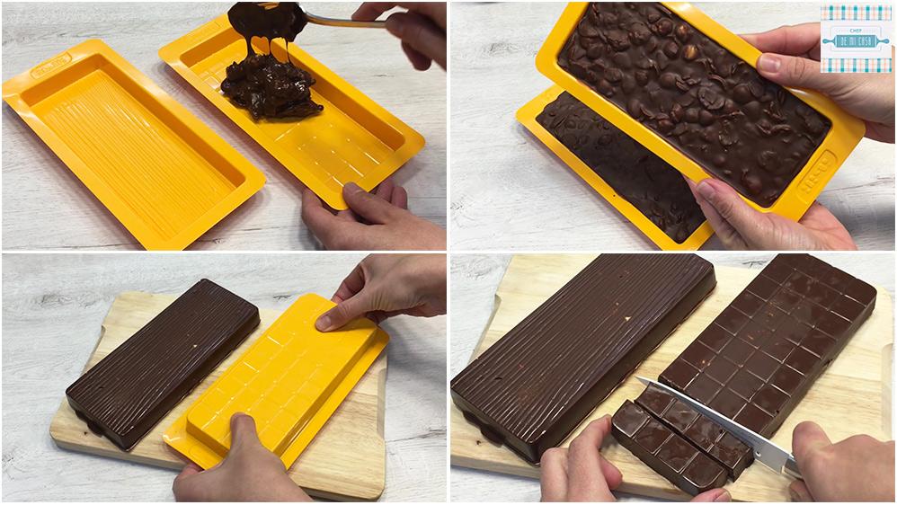 Turrón de Chocolate y Avellanas
